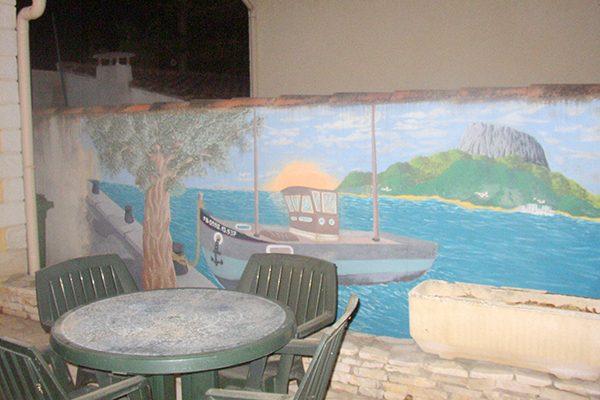 Frasque murale